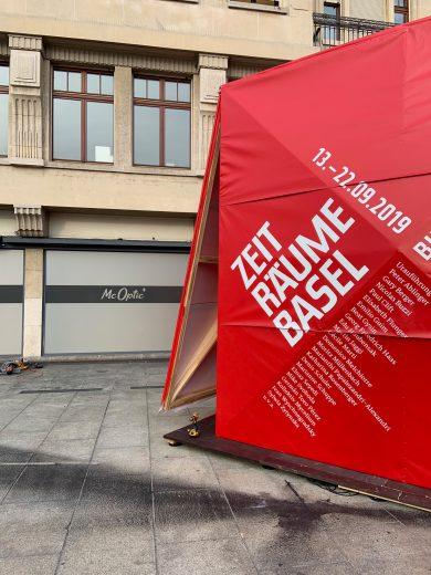 Zeiträume Pavillion Basel, 2019