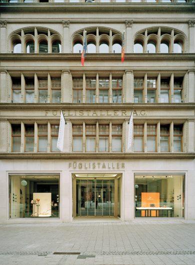 Geschäftshaus Füglistaller Basel, 2008