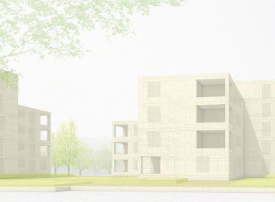 Wohnüberbauung Gallezen Augst, 2006