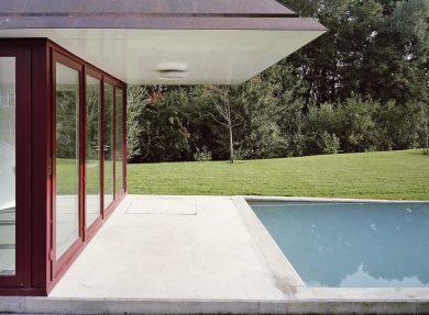 Badehaus mit Swimmingpool Kesswil, 2001