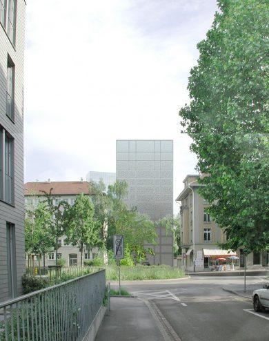 Wohnungen im Blockhof Landhof, Basel, 2003