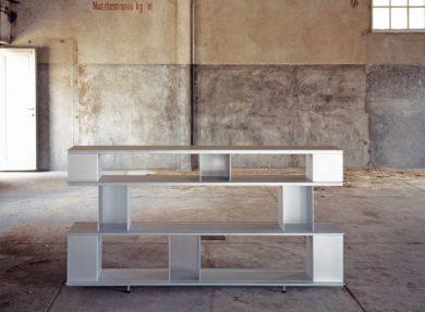 Aluminiumregal Zoll-D Basel, 1993